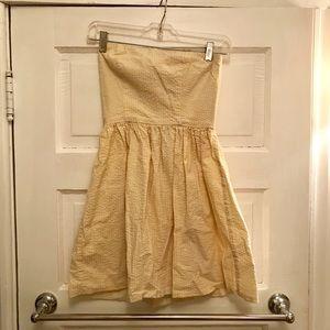 🔺3/$20🔺White & Yellow dress